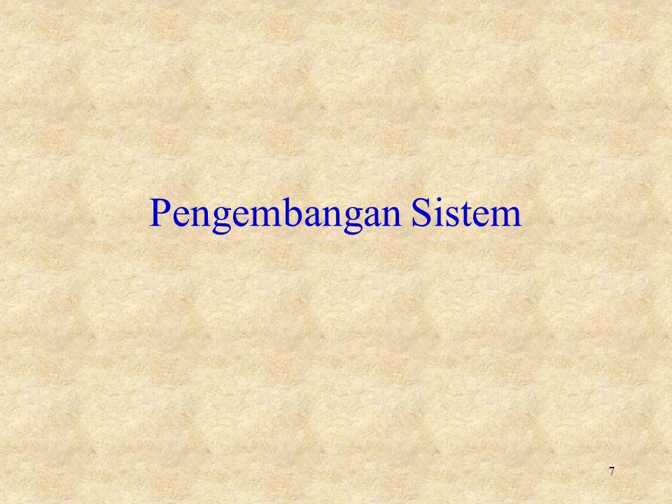 Pengembangan Sistem