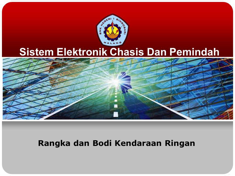 Sistem Elektronik Chasis Dan Pemindah