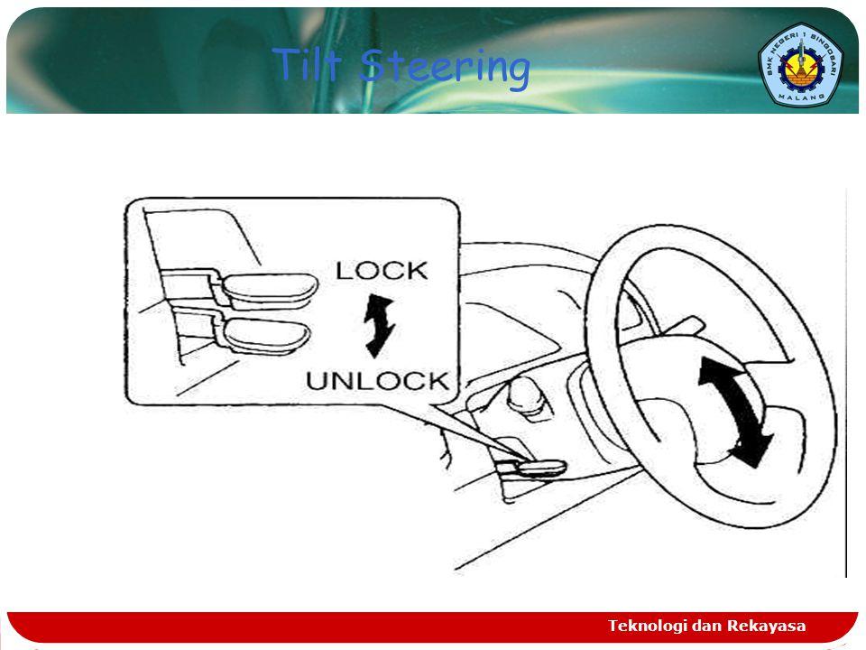 Tilt Steering Teknologi dan Rekayasa