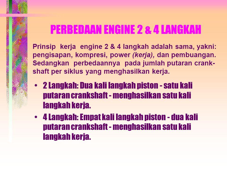 PERBEDAAN ENGINE 2 & 4 LANGKAH