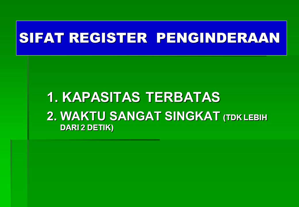 SIFAT REGISTER PENGINDERAAN