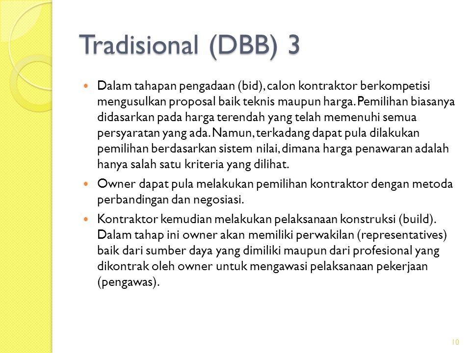 Tradisional (DBB) 3