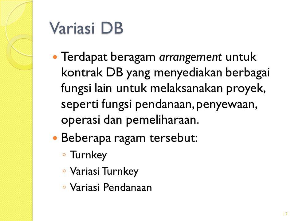 Variasi DB