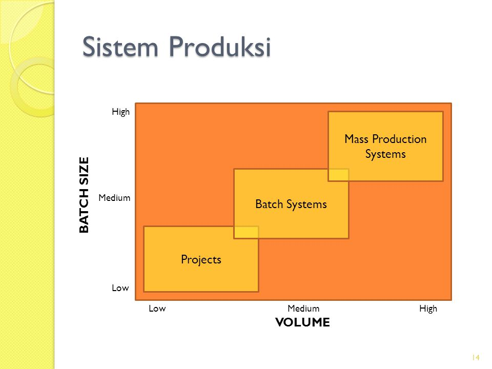 Mass Production Systems