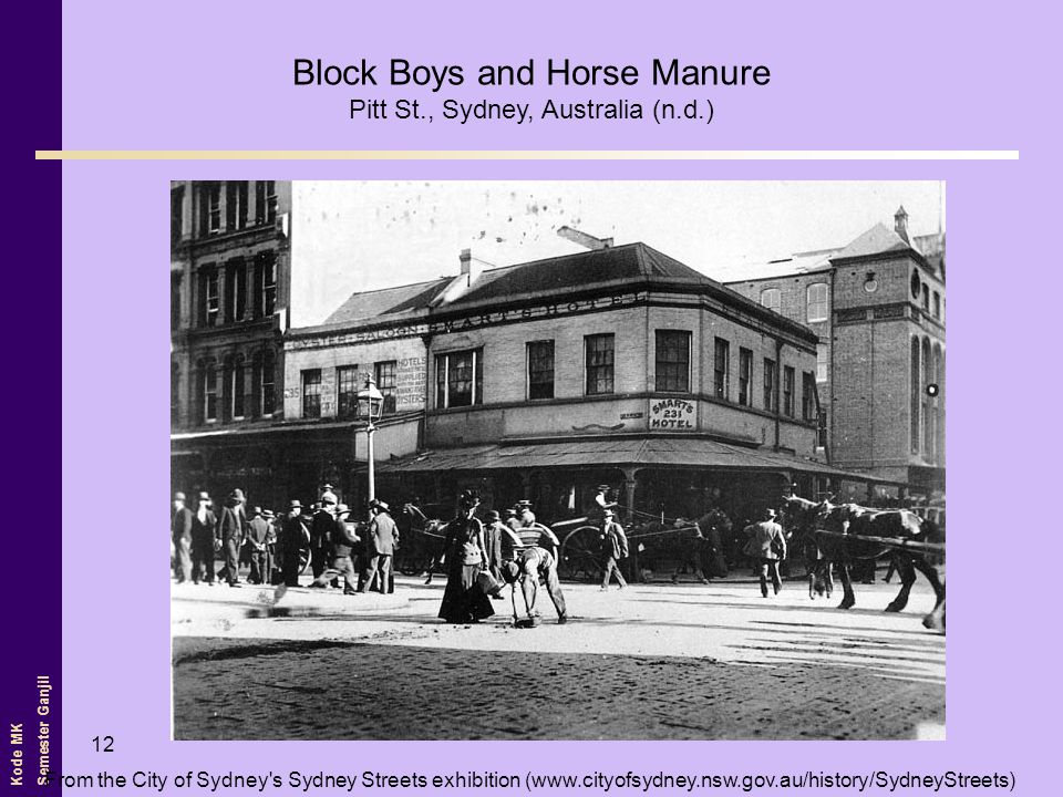 Block Boys and Horse Manure