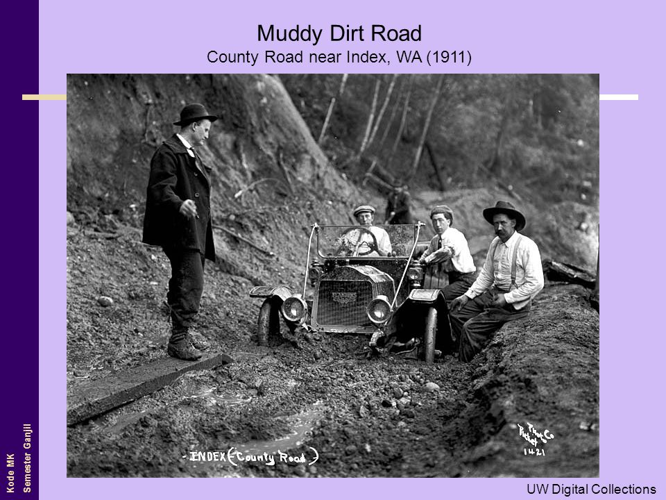 County Road near Index, WA (1911)