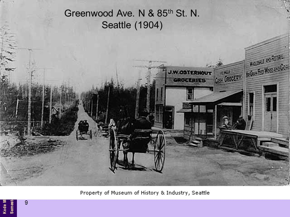 Greenwood Ave. N & 85th St. N. Seattle (1904)