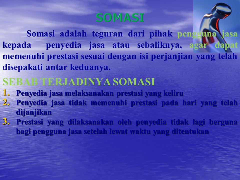 SOMASI SEBAB TERJADINYA SOMASI