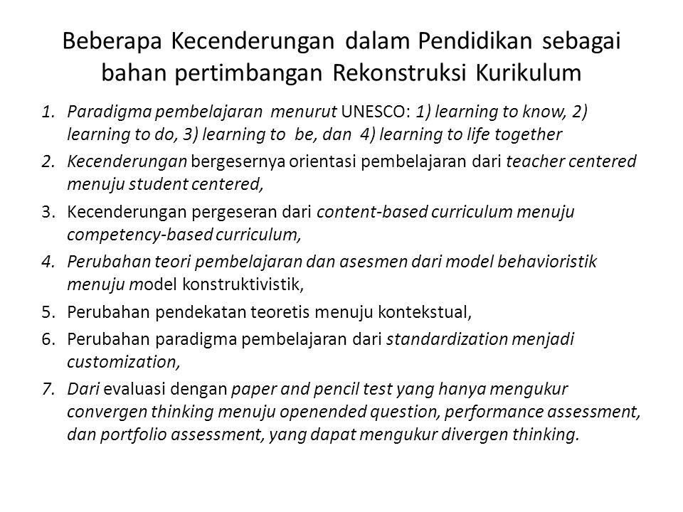 inovasi kurikulum pertemuan ke ppt download
