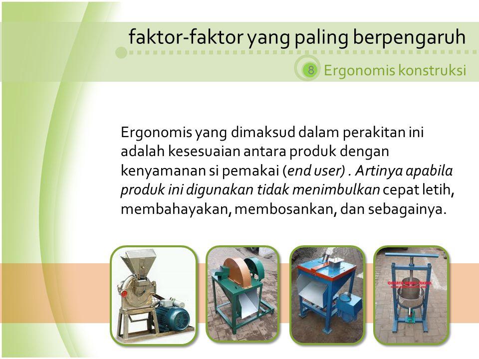 faktor-faktor yang paling berpengaruh