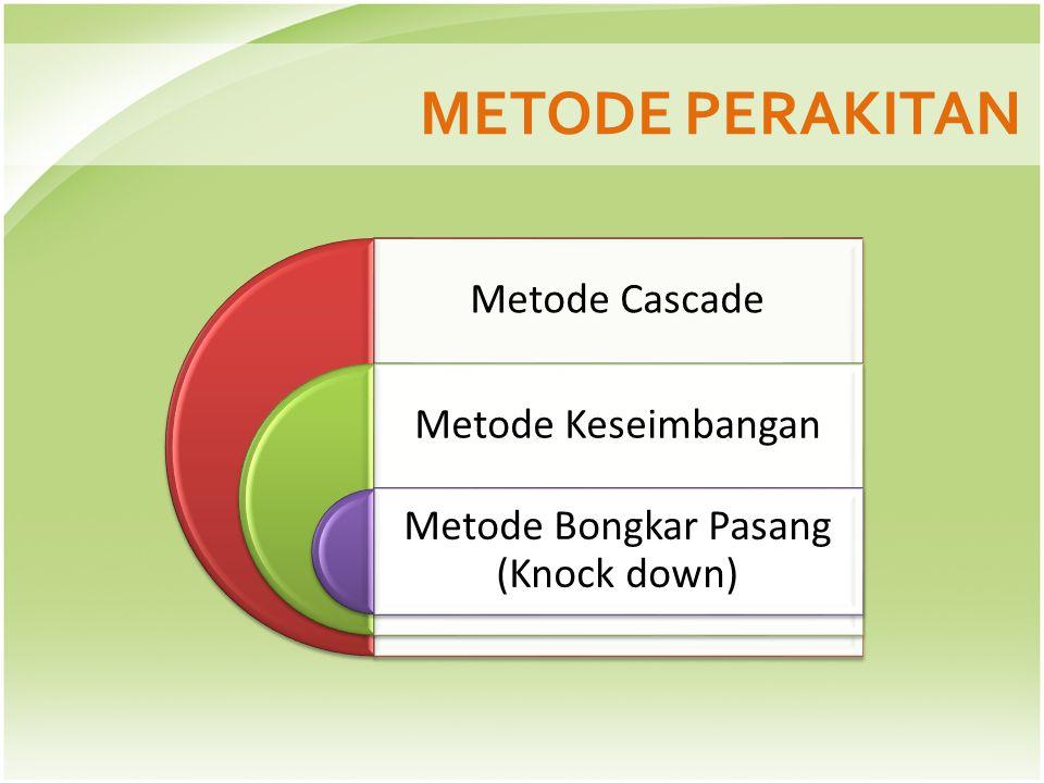 Metode Bongkar Pasang (Knock down)