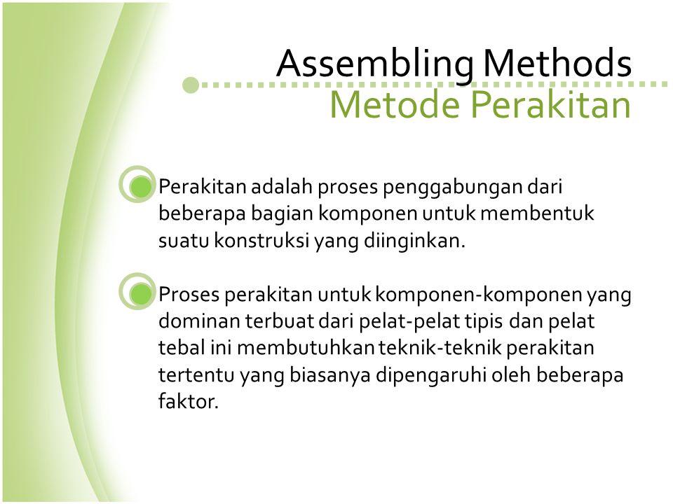Assembling Methods Metode Perakitan