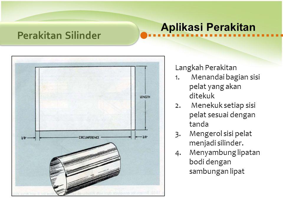 Aplikasi Perakitan Perakitan Silinder Langkah Perakitan