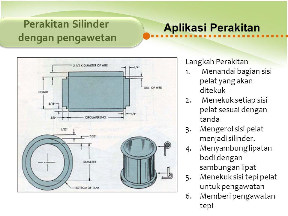 Perakitan Silinder dengan pengawetan