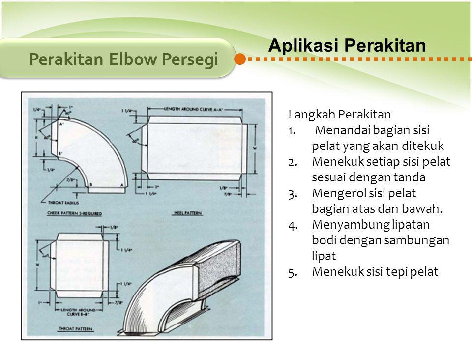 Perakitan Elbow Persegi