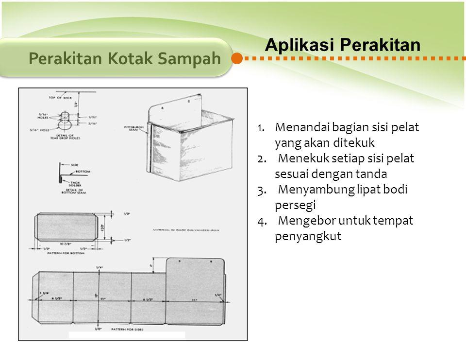 Perakitan Kotak Sampah