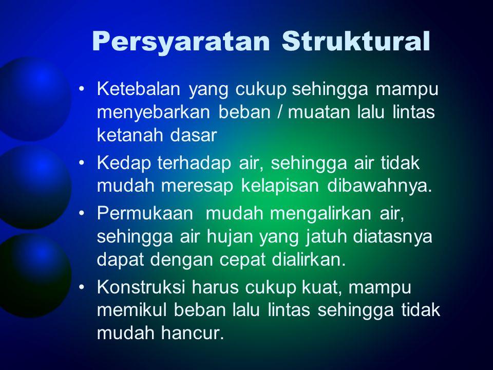 Persyaratan Struktural