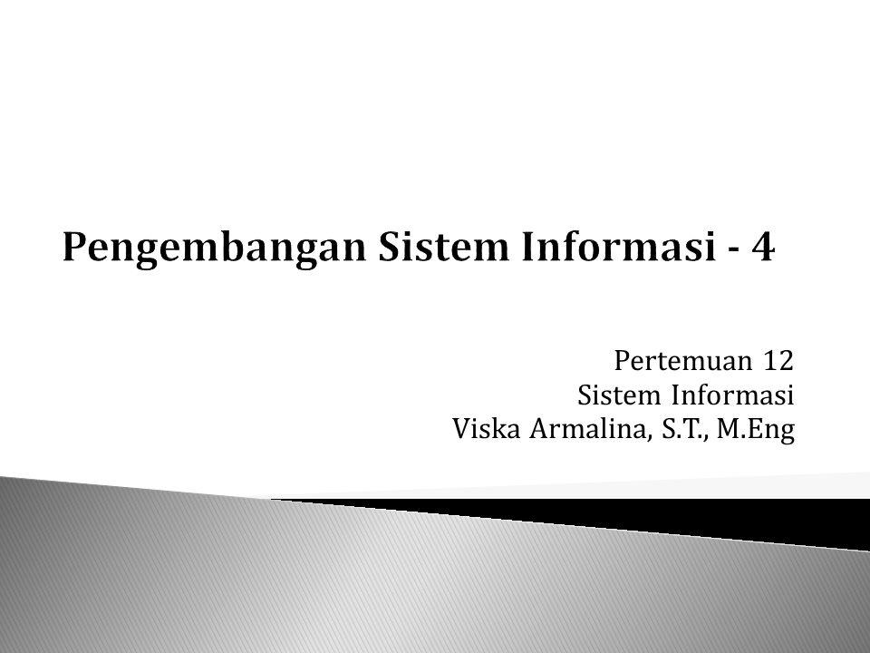 Pengembangan Sistem Informasi - 4