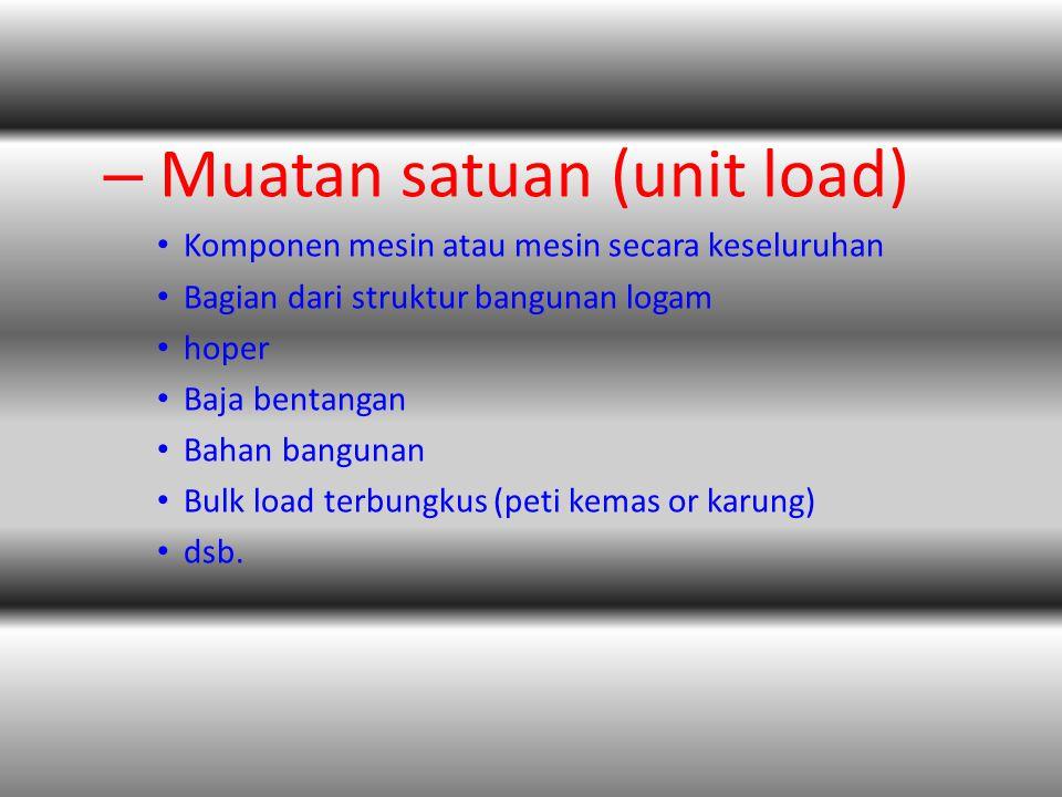 Muatan satuan (unit load)