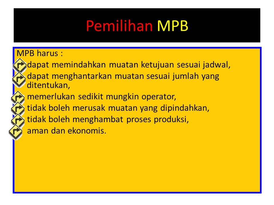 Pemilihan MPB