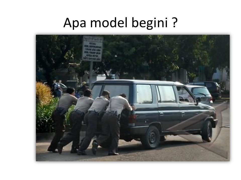 Apa model begini