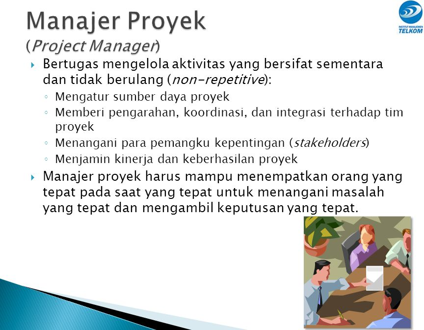 Manajer Proyek (Project Manager)