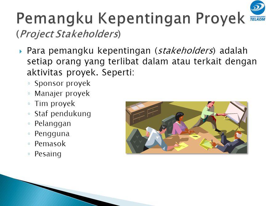 Pemangku Kepentingan Proyek (Project Stakeholders)