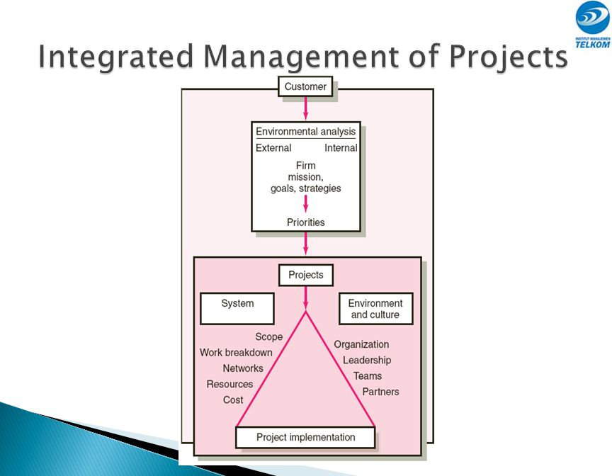 Integrated Management of Projects