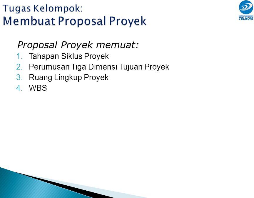 Tugas Kelompok: Membuat Proposal Proyek
