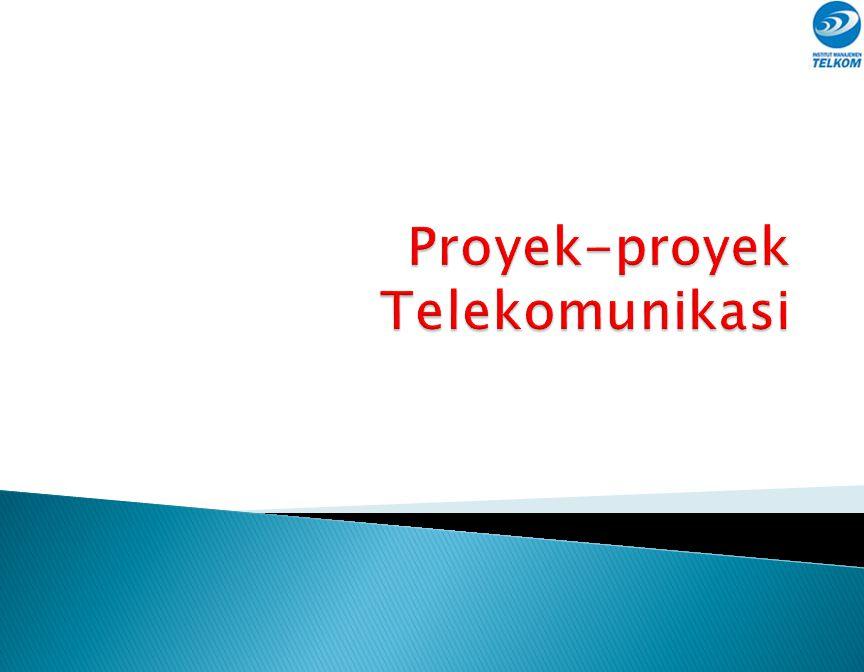 Proyek-proyek Telekomunikasi