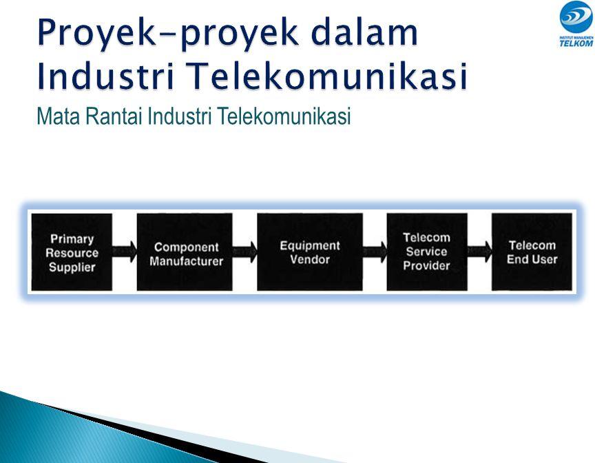 Proyek-proyek dalam Industri Telekomunikasi