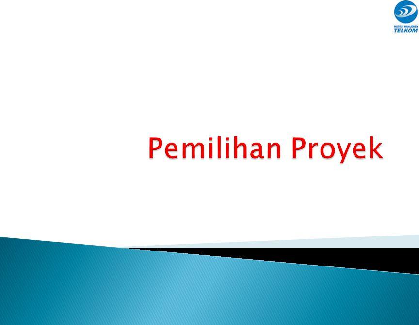 Pemilihan Proyek