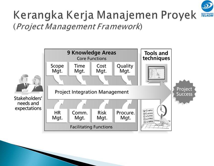 Kerangka Kerja Manajemen Proyek (Project Management Framework)