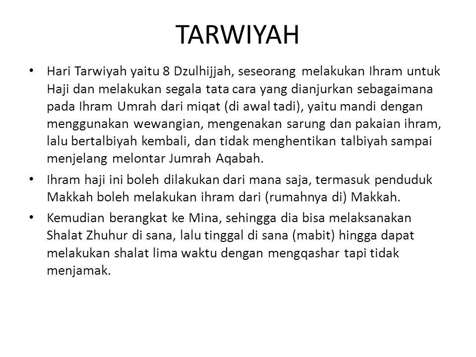 TARWIYAH