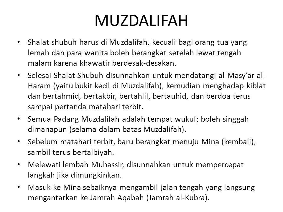 MUZDALIFAH