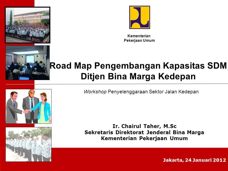 Road Map Pengembangan Kapasitas SDM Ditjen Bina Marga Kedepan