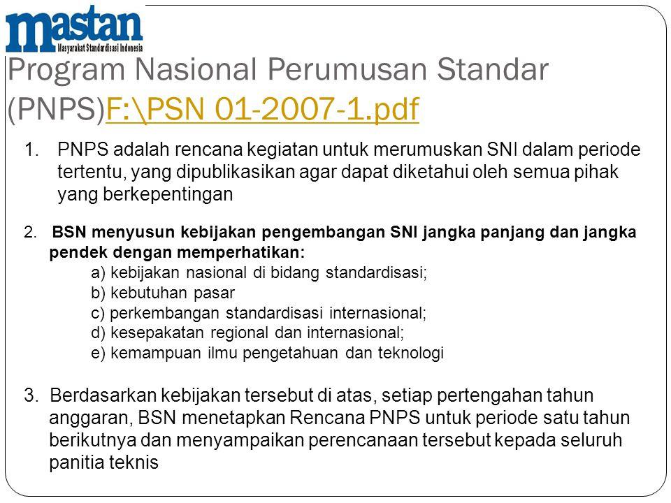 Program Nasional Perumusan Standar (PNPS)F:\PSN 01-2007-1.pdf