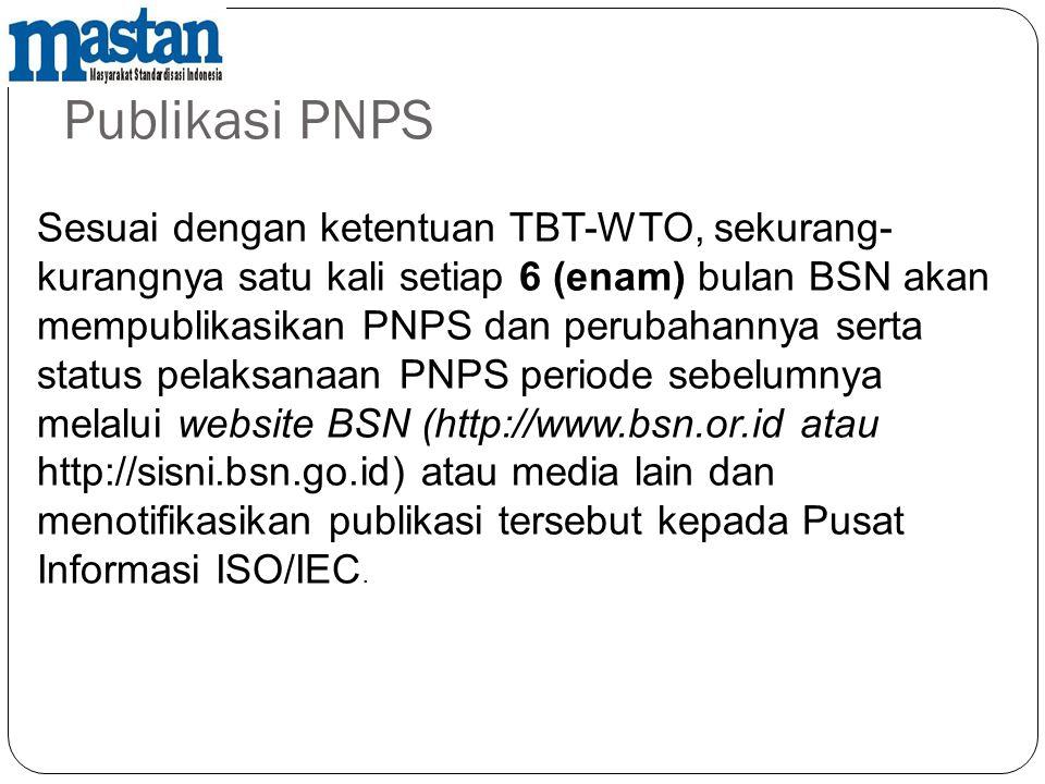 Publikasi PNPS