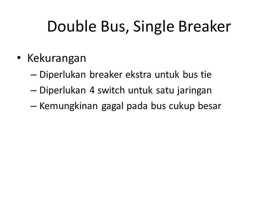 Double Bus, Single Breaker