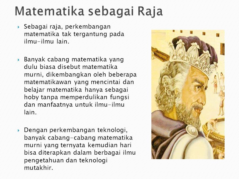 Matematika sebagai Raja