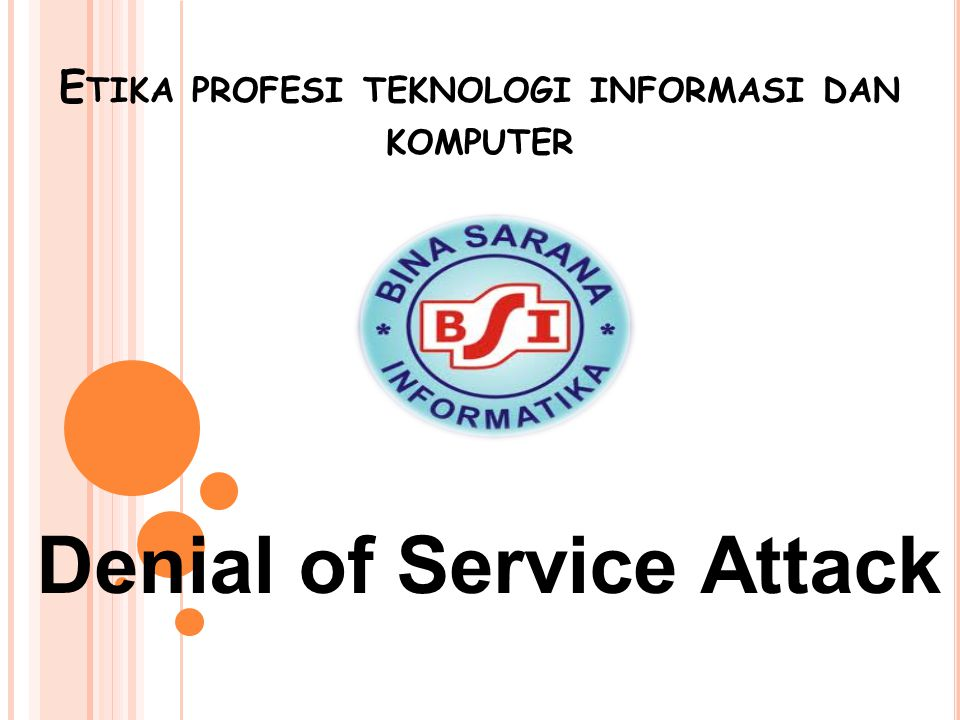 Etika profesi teknologi informasi dan komputer