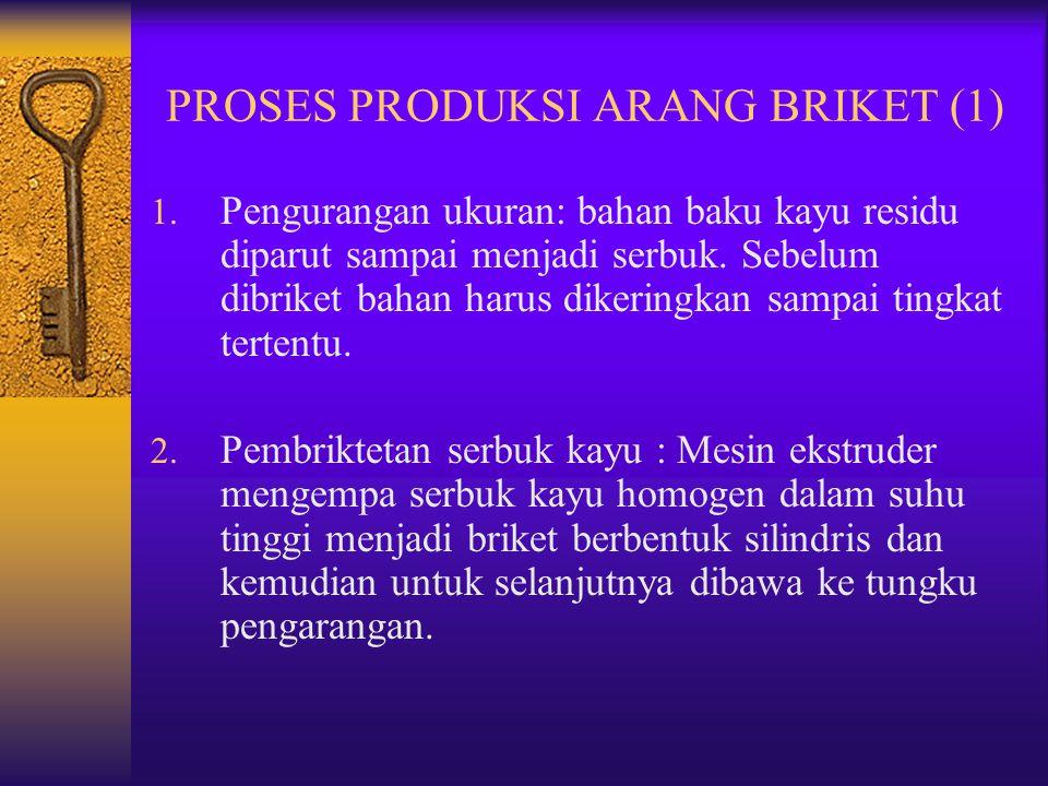 PROSES PRODUKSI ARANG BRIKET (1)