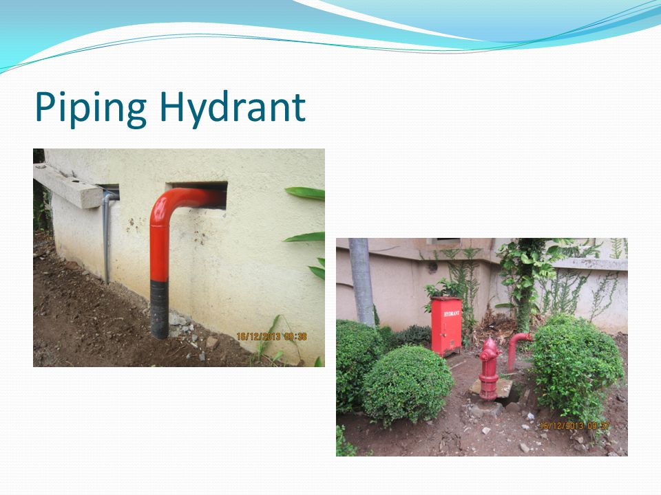 Piping Hydrant