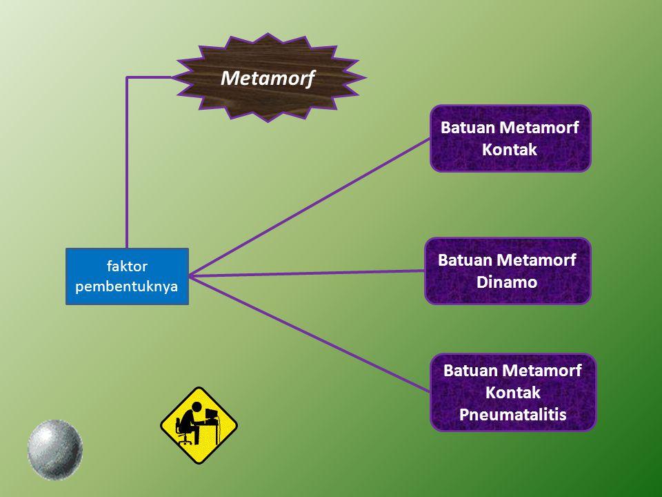 Metamorf Batuan Metamorf Kontak Batuan Metamorf Dinamo