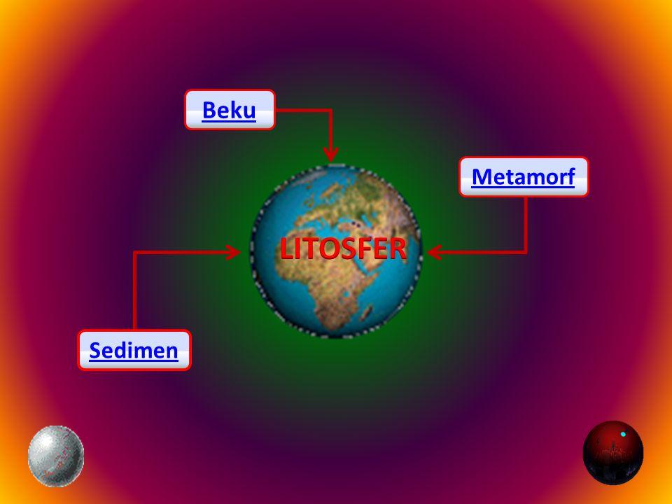 Beku Metamorf LITOSFER Sedimen