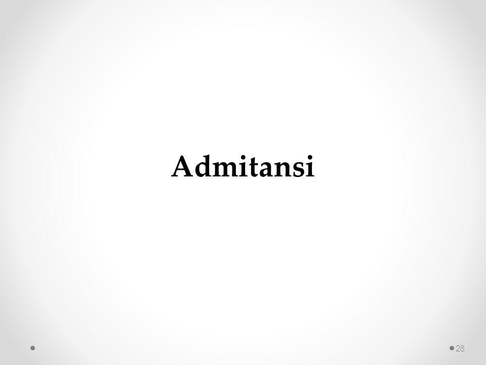 Admitansi