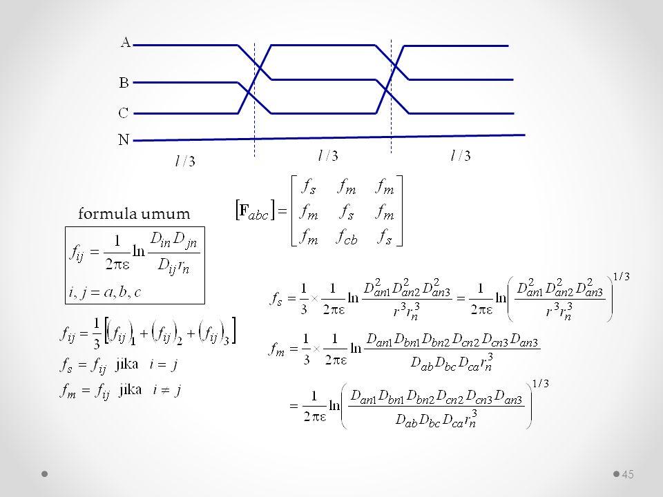 formula umum