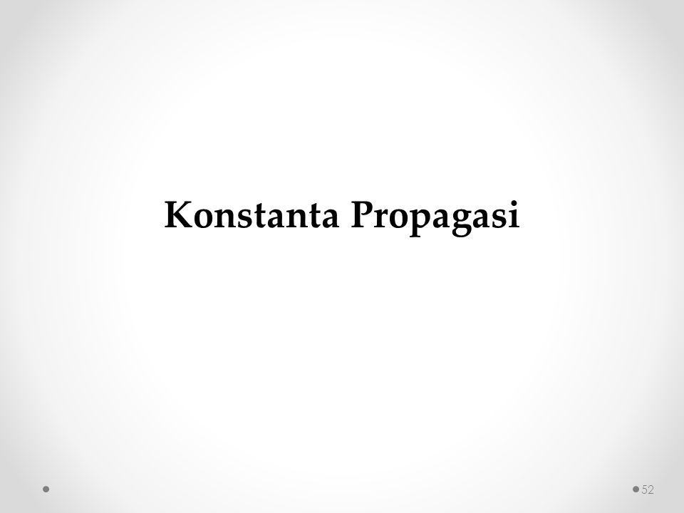 Konstanta Propagasi
