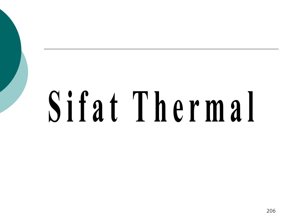 Sifat Thermal