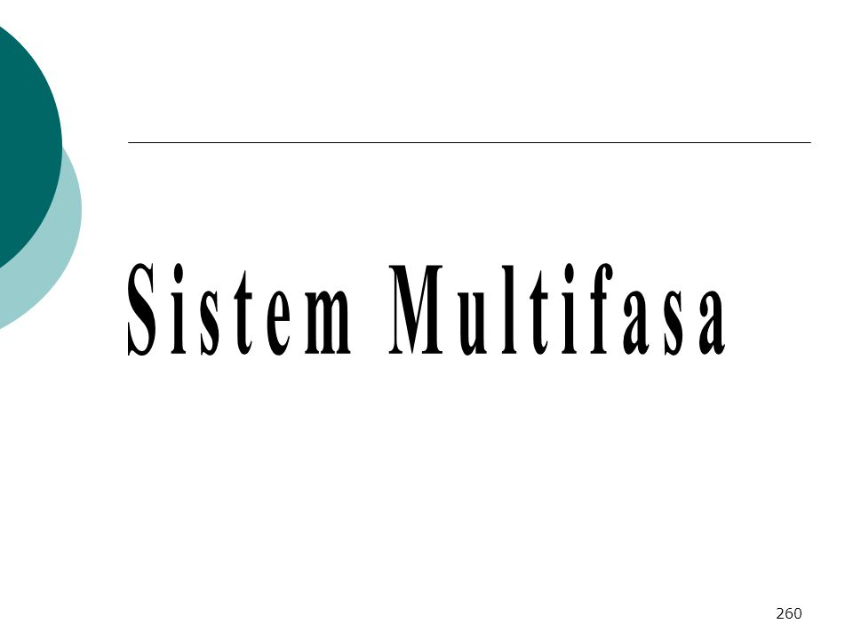 Sistem Multifasa
